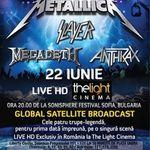 Concertul The Big Four din Bulgaria este transmis Live HD in aceasta seara!