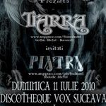 Concert Tiarra in Discotheque Vox din Suceava