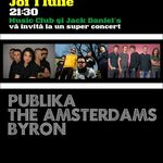 PubliKa, The Amsterdams si byron in Music Club Bucuresti
