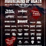 Noi nume confirmate pentru Mountains Of Death 2010
