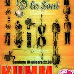 Concert Kumm in Papa la Soni din Vama Veche