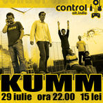 Concert Kumm in Club Control din Bucuresti