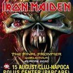 Reguli de acces si informatii despre concertul Iron Maiden din Cluj Napoca