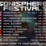 Sonisphere este nominalizat la BT Digital Music Awards