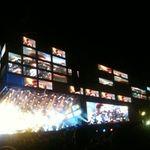 Filmari cu Muse la concertul din Manchester 2010