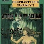 Concert AOTMA, Clitgore si Mediocracy miercuri in Club Elephant din Bucuresti
