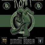 Primele filmari din turneul Korn si Dimmu Borgir