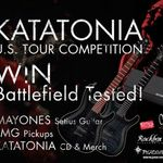 Katatonia au ramas fara chitari in America