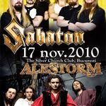 Posibil setlist pentru concertul Sabaton si Alestorm la Bucuresti