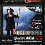 5 concerte de rock in toata tara pe 2 octombrie