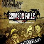 Shesdead deschid concertul Crimson Falls din Underworld