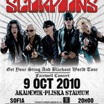 Scorpions reprogrameaza concertul din Bulgaria