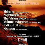Ultimele detalii legate de Labyrinthic Metal Evening in Silver Church