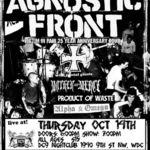 Un om a fost ucis dupa un concert Agnostic Front