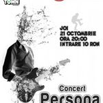 Concert Persona in club Underworld Bucuresti