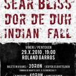 Concert Sear Bliss, Dordeduh si Indian Fall la Cluj-Napoca