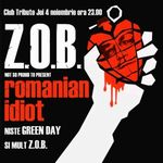 Concert Z.O.B. in club Tribute din Bucuresti