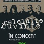 Concert Celelalte Cuvinte in Fire Club din Bucuresti