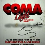 Concert Coma Light in Elephant Pub din Bucuresti