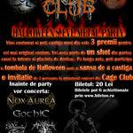 Petrecere de Halloween in Cage Club Bucuresti