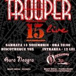 Concert Trooper in club Vox din Suceava