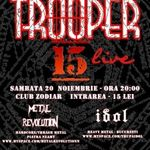 Concert Trooper in Club Zodiar din Galati