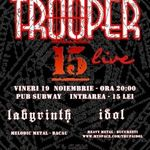 Concert Trooper in Pub Subway din Bacau