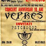 Concert Vepres si Psychogod in club Abyss Galati