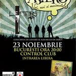Concert lansare Astero in club Control din Bucuresti