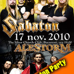 Warm-up party pentru concertul Sabaton la Heaven And Hell Bar