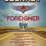 Turneu Journey, Foreigner si Styx