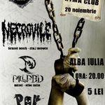 Concert Necrovile, Pillfed si P.O.V in clubul Ryma din Alba Iulia