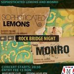 Concert Sophisticated Lemons si Monro in club Mojo