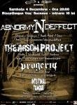 Concert Abnormyndeffect si The  Arson Project in Club Vox Suceava