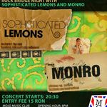 Rock Bridge Night: Monro si Sophisticated Lemons in Mojo