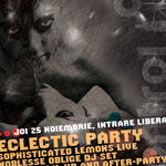 Eclectic Party cu Sophisticated Lemons si Noblesse Oblige DJ Set in Control