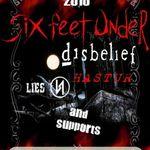 Six Feet Under anuleaza turneul european