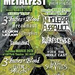 Nuclear Assault si 3 Inches Of Blood confirmati pentru Manitoba Metalfest 2011