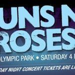 Filmari cu Guns N Roses in Australia