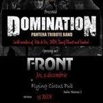 Concert Domination (Pantera tribute band) in Cluj-Napoca