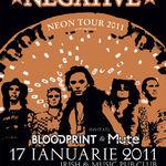 Spot video pentru concertul Negative din Cluj Napoca
