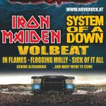 Iron Maiden si In Flames confirmati pentru Nova Rock 2011