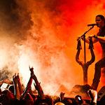 Poze cu Satyricon in concert in Rusia