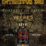 Concert Interitus Dei, Fortress Of  Faith si Vepres in Cage Club