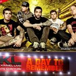 A Day To Remember vor canta la Jimmy Kimmel