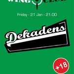 Concert Dekadens in Wings Club Bucuresti