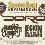 Legion of the Damned confirmati pentru Sweden Rock Cruise 2011
