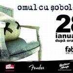 Concert Omul Cu Sobolani in club Fabrica Bucuresti