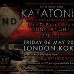 Katatonia anunta un turneu aniversar si filmeaza un DVD
