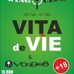 Concert Vita de Vie si Voodoo in Wings Club Bucuresti